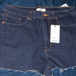 Forever 21 Raw Cuff  Shorts